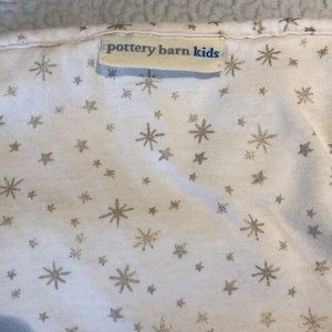 Pottery Barn Lids hooded star baby towel